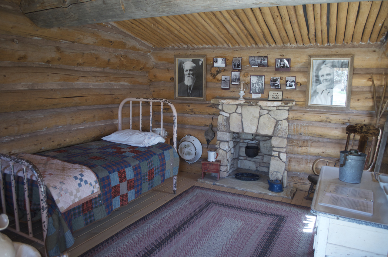 Inside Jones Cabin